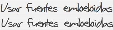 Suavizado de fuentes en Chrome que usan font-face