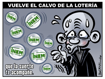 La loteria del paro